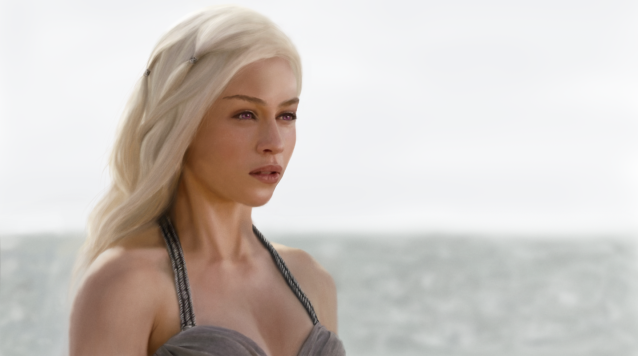 The hidden face of Emilia Clarke in Game Of Thrones