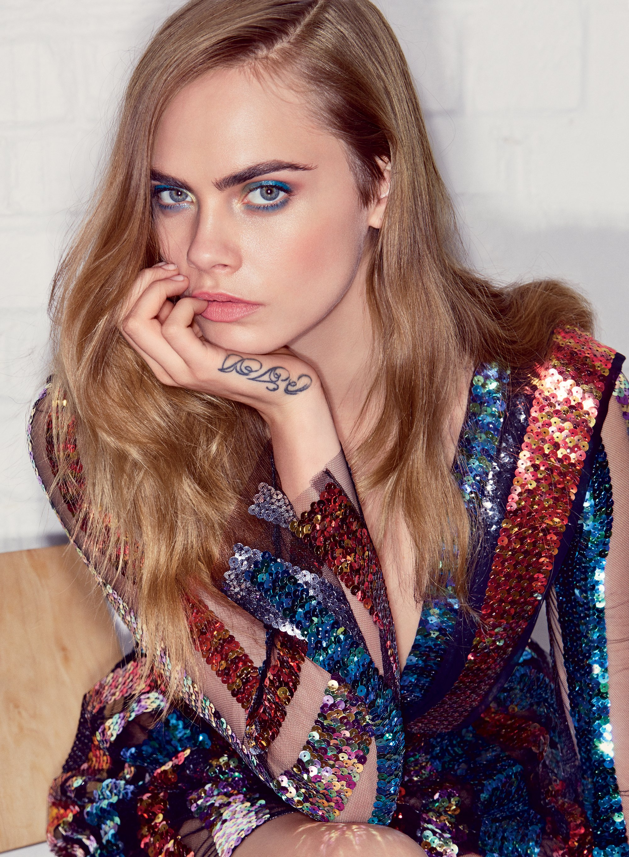 Cara Delevingne, Fashion Week and Suicide Squad, le coloriste