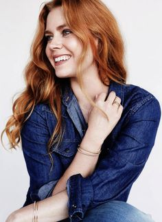 Amy Adams finally dares copper red, lecoloriste