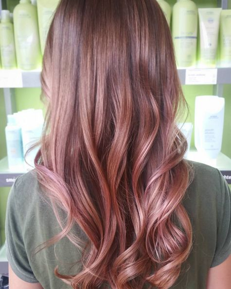 La Coloration Rose Gold Couleur A Opter Plus Que Jamais Le Coloriste