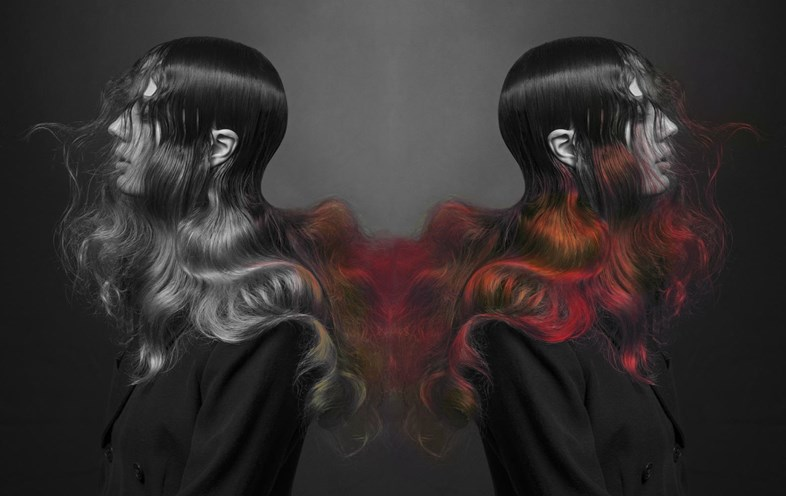 The witch who's made the world's first colour-change hair, lecoloriste